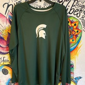 Champion Dry-Fit Michigan State Longsleeve Tee